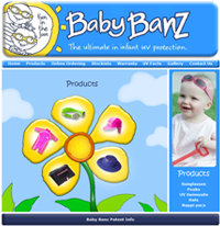 Baby Banz product page